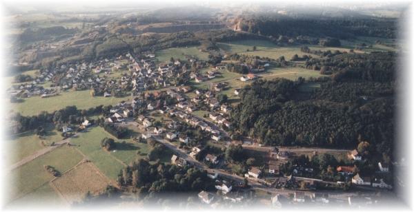 Luftbildaufnahme von Stockum-Püschen
